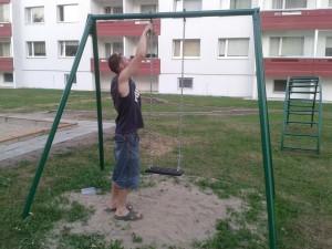Laste mänguväljaku korrastamine