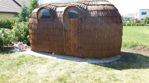 Sauna vundamendi ehitamine